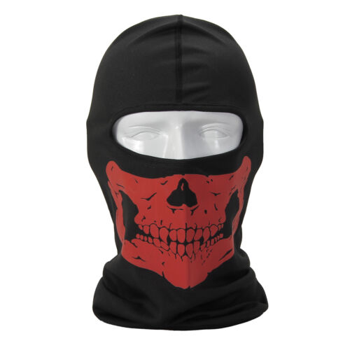 3D Cycling Bicycle Motorcycle Skull Cap Balaclava Headgear Hats Full Face Mask