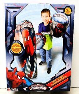 Hedstrom-56-82271-Ultimate-Spiderman-Bop-Bag-and-Gloves-Combo-Set-36-in