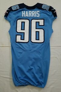 96-Harris-of-Tennessee-Titans-NFL-Game-Issued-Player-Worn-Jersey