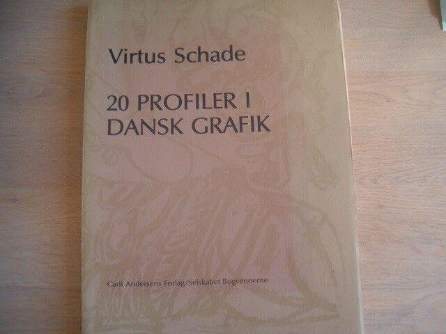 20 Profiler i dansk grafik, Virtus Schade, emne: kunst og