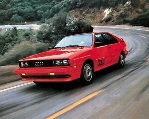 1982 Audi Quattro GT Coupe Fabrik Foto c3835-pmtmkj