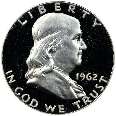gem proof beautifully struck    L145 1960 P Franklin Silver Proof Half Dollar