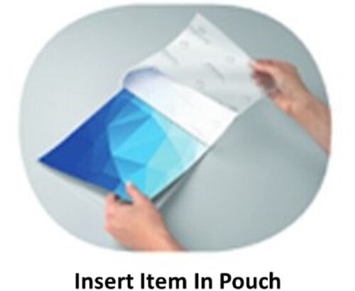 """100 Letter Laminating Pouches 9/"""" x 11.5/"""" Laminator 3 Mil 20870 Business Source"""