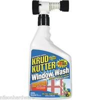 Krud Kutter 32 Oz Concentrated Garden Hose Outdoor House Window Wash Ww32h4