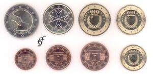 Malta Alle 8 Münzen 2011 Mit 2 Euro Gedenkmünze Wahl Ebay