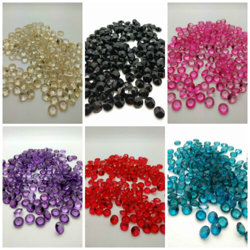 200 Wedding Table Scatter Crystals Diamante Party Table Confetti Decor 10mm