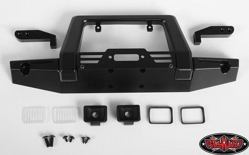 RC4WD Pawn Metal Front Bumper w Lights für Traxxas TRX-4  | Qualitativ Hochwertiges Produkt