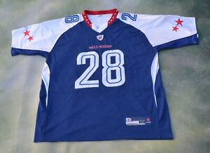 Details about Reebok NFL 2010 Pro Bowl Minnesota Vikings Adrian Peterson #28 Jersey Size 52.
