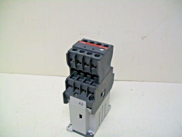 ABB NL44E 8 Pole Control Relay Block Contactor 24volt DC Coil 690 Volt 16  Amp