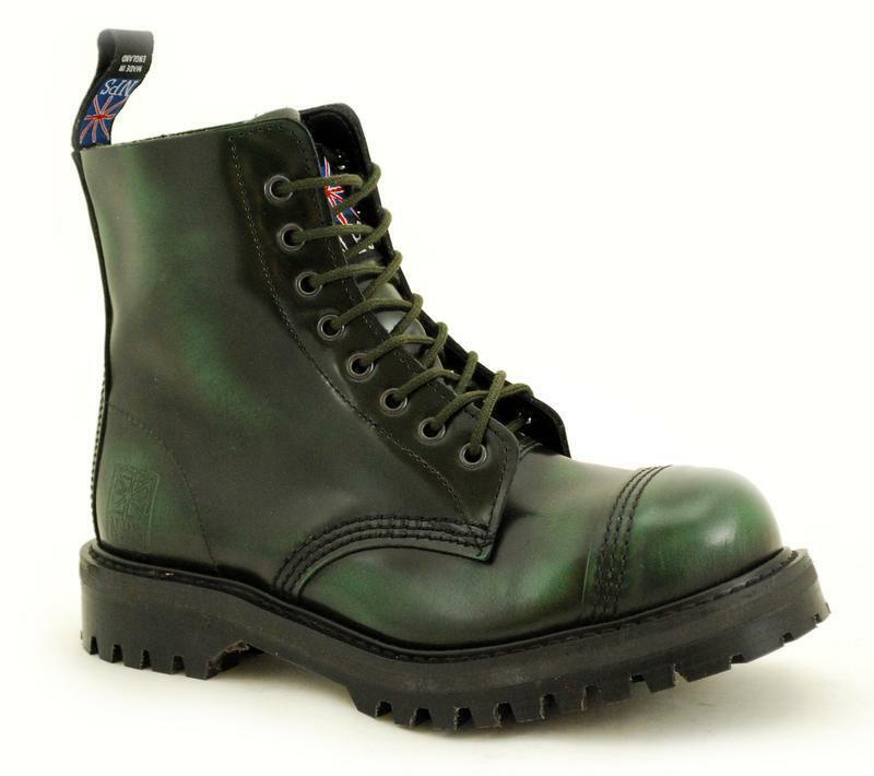 Premium Premium Premium Ranger NPS Made in England Grün Rub Off 8 Steelcap NS029-X11551GRRO 461726