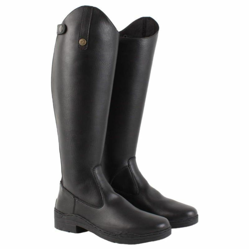 Brogini Modena Synthetic Leather Horse Riding Show Jumping Competition Tall Stiefel