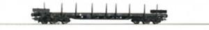 Roco-76769-HO-Gauge-PKP-Bogie-Stake-Wagon-V