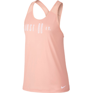 on feet shots of new cheap lower price with Details about Nike Women's Flow 2.0 GRX Tank Top New Dri-FIT Pink White  Sportswear 931758-646