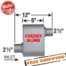 Ap Exhaust 7480cb Cherry Bomb Extreme Aluminized Steel Oval Exhaust Muffler