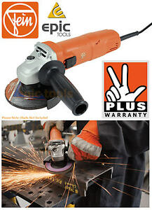 FEIN-WSG-7-115-A-115mm-4-1-2-034-Compact-760w-Angle-Disc-Grinder-Cutter-240v