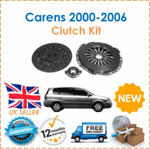 For Kia Carens 2.0 TD CRDI Diesel MK2 2000-2006 Complete 3 Piece Clutch Kit New