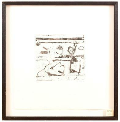 Richard Diebenkorn, Oui, 1990, signed Aquatint Reversal with Drypoint