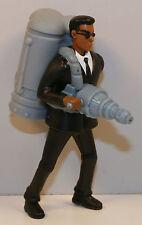 """2002 Alien Blastin' Agent J Jay 4"""" Squirter Figure Burger King #5 Men In Black 2"""