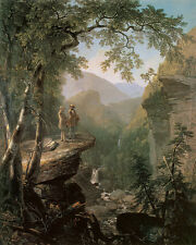 Kindred Spirits  by Asher Brown Durand  Giclee Canvas Print Repro