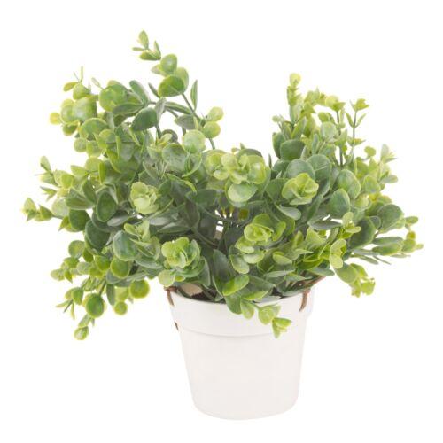 Artificiale cesto appeso vaso interni esterni giardino arredamento realistico Leafs