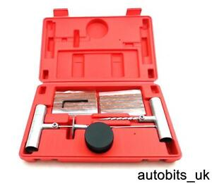 Emergency-Car-Van-Motorcycle-Tubeless-Tyre-Puncture-Repair-Kit-Tool-30-Strip-box