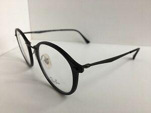 cf6854743af Image is loading Ray-Ban-RX7073-2077-49mm-Matte-Black-Eyeglasses