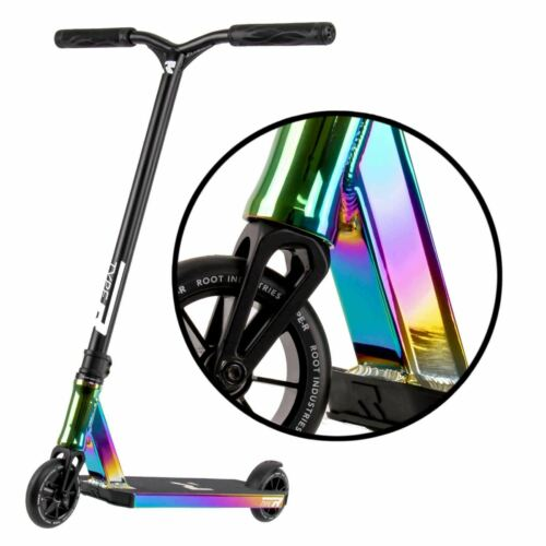 Root Industries Type R Childrens IHC Stunt Scooter Rocket Fuel Neochrome