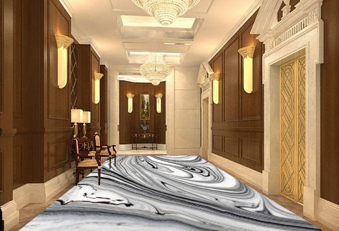 3D Pietra Strisce 278 Pavimento Foto Wallpaper Murales Muro Stampa Decalcomania