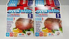 LOOK ,THE ORIGINAL BRITISH ROASTING OVEN BAGS(Pk 12)Total 60bags(free shipping)