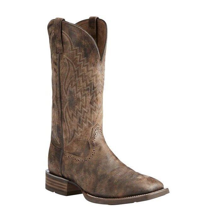 Ariat ® Para hombre botas gris Antiguo Tycoon 10025136
