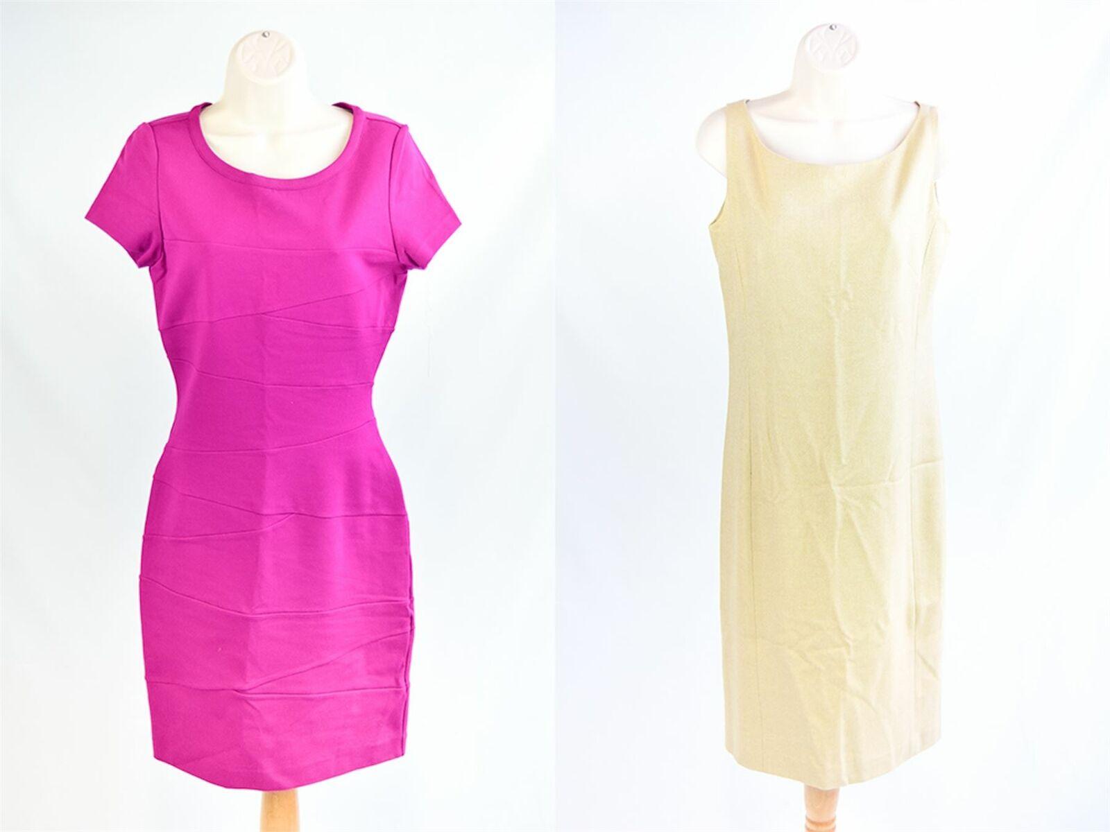 DIANE VON FURSTENBERG AND RALPH LAUREN Dresses x2, UK 12 US 8 EU 40