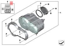Genuine BMW K50 K51 Headlight Cover OEM 63218525111