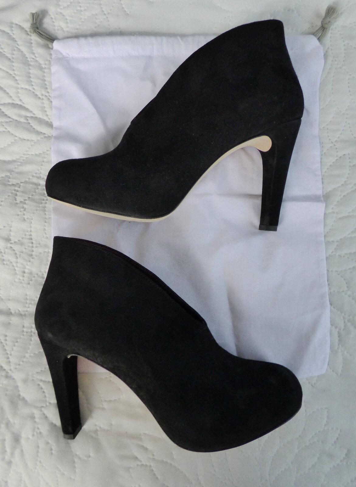 Escarpins montants cuir noir Gérard Darel - Taille 41