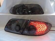 Fits 03 08 Mazda 6 4dr Sedan Jdm Smoke 4pcs Led Tail Brake Lights Withtrunk Piece Fits Mazda 6