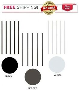"""3//4/"""" Classic Round straight or stair Baluster connectors"""