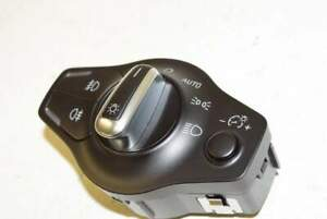 Audi-Q5-8R-13-Interruttore-interruttore-luci-NSW-NSL-cromo-nero-per-auto-xenon