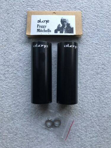 "NEW 2 x Alone Peggy Mitchells BMX Stunt Pegs 4"" Long Peg 14mm or 10mm Black Park"