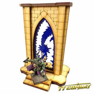 Fantasy Scenics TTCombat Minor Riftgate Set Blue and Orange