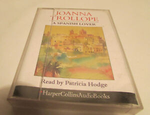 A-Spanish-Lover-Joanna-Trollope-2-Cassette-Audio-Book-Used-Very-good