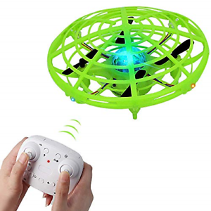 Flying Ball Drones for Kids Remote Control Flying Toys with 2 Speeds and LED for