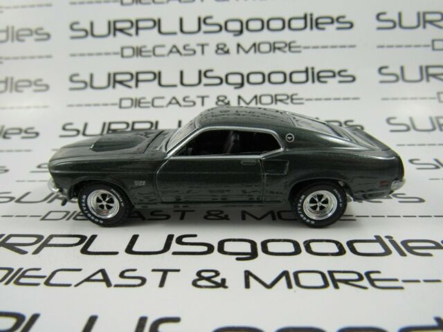 1969 Ford Mustang Boss 429  Dark Green *** Greenlight Anniversary 1:64 OVP