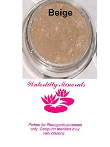 Beige-Minerals-Eye-Shadow-Bare-Makeup-Eyeshadow-Peachy-Sample-Size-New-Sealed