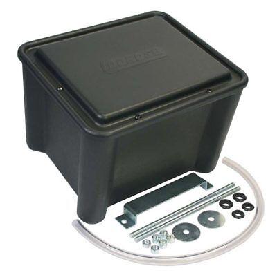 "NHRA  13/"" x 11/"" x 11/"" Black Moroso 74051 Sealed Plastic Battery Relocation Box"
