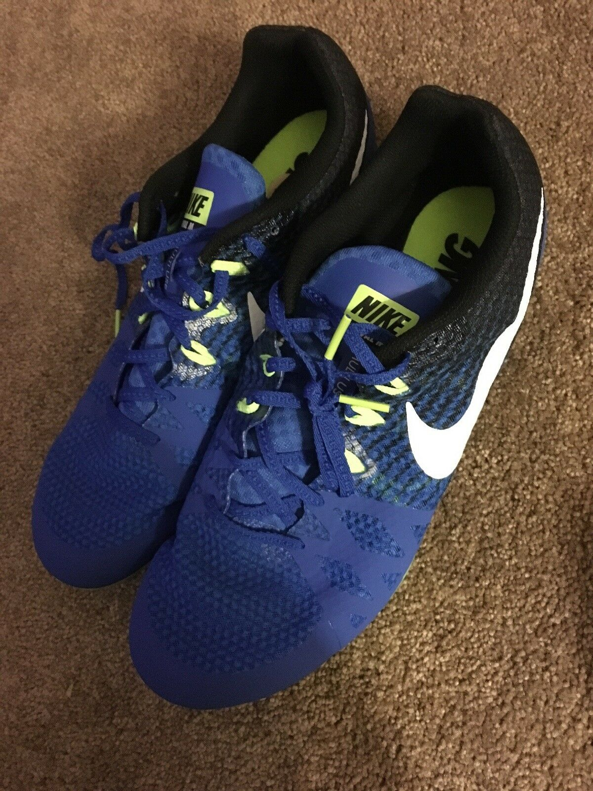 Nike Racing Zoom Rival M's Men's Track Field Running shoes No Spikes US 12
