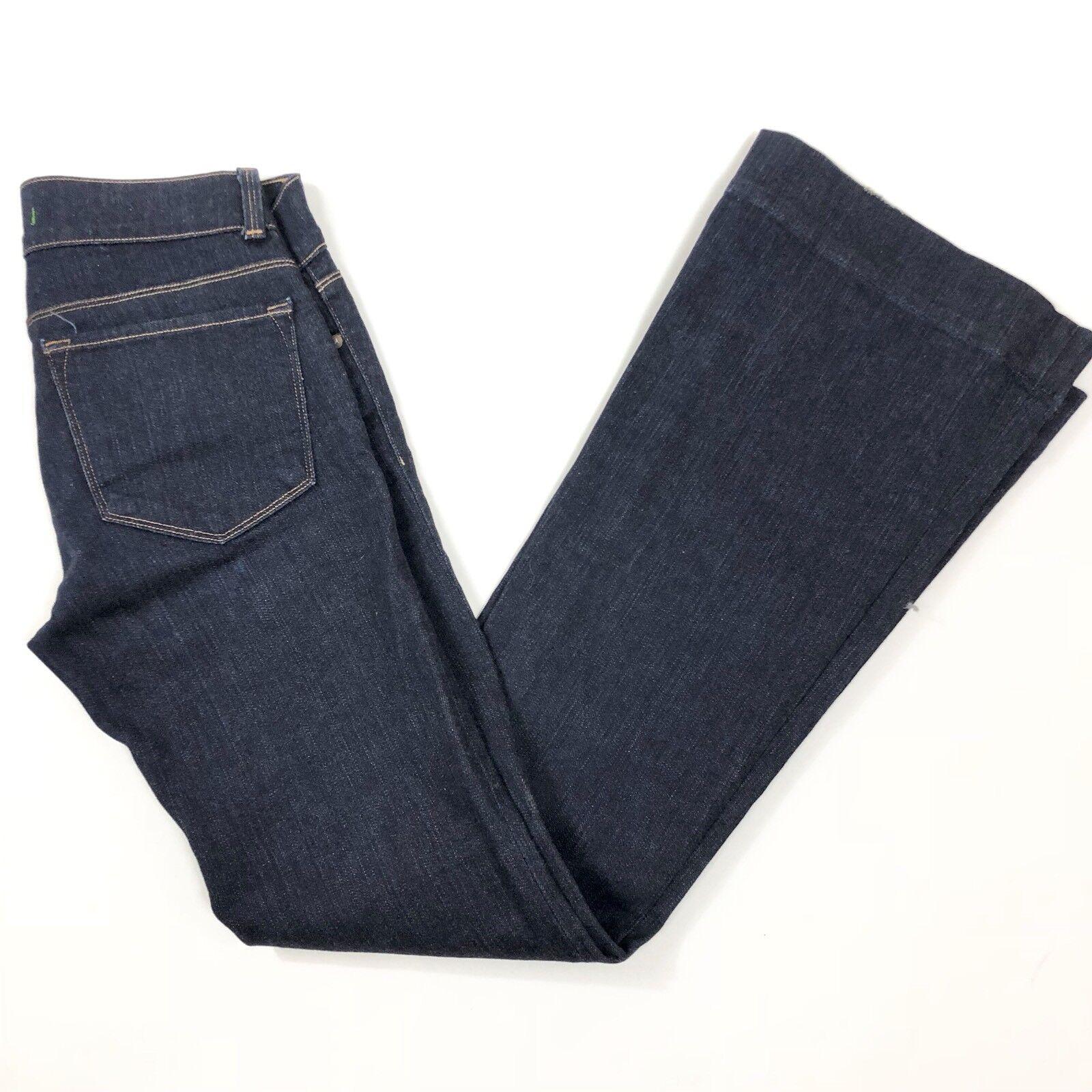 J Brand Womens 27x33 Flare Jeans 72201 Ink Dark Wash