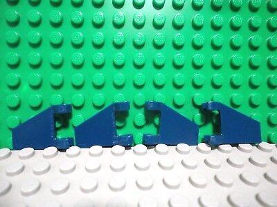 10x LEGO NEW 2x2 Dark Tan Flag Trapezoid 6231385 Brick 44676