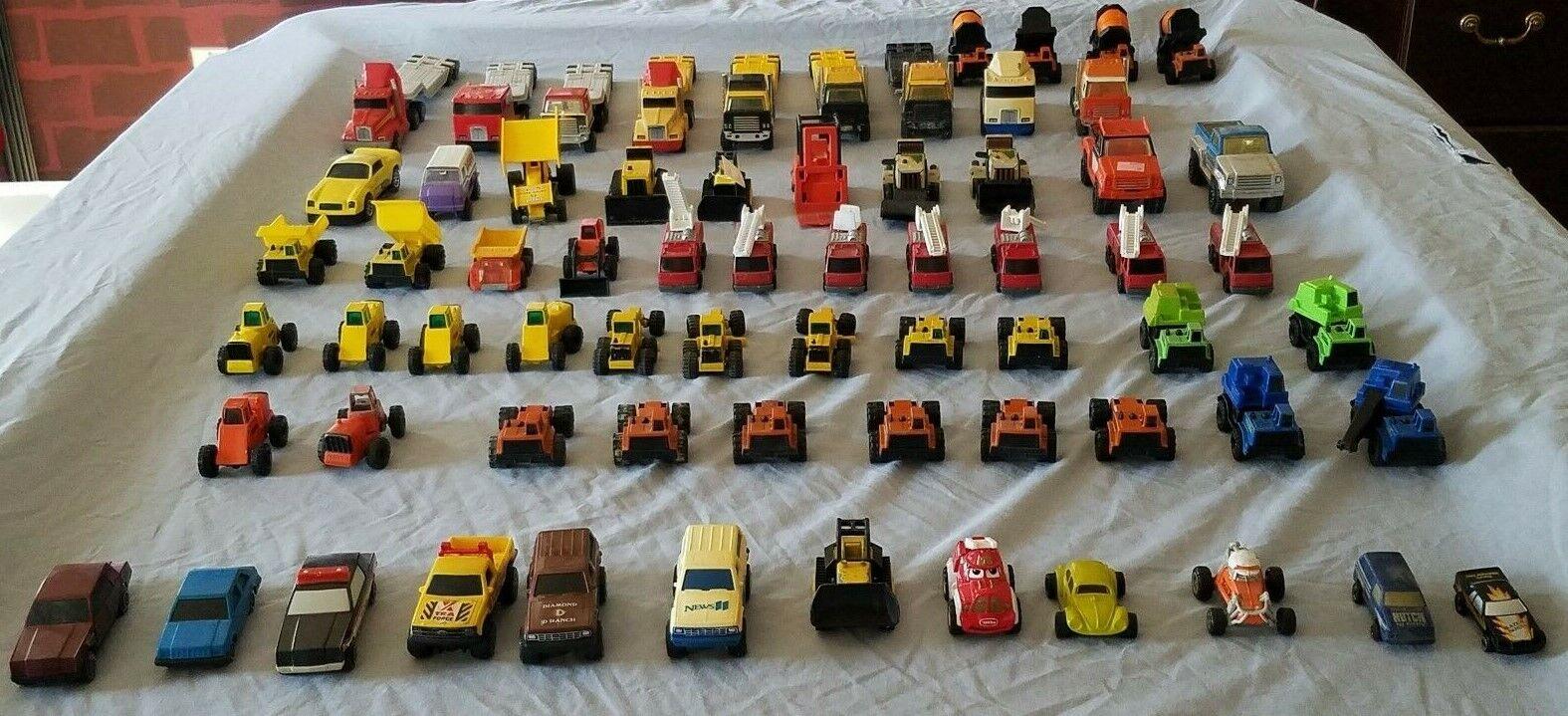 Mixed Jahr Masse Tonka Truck Trucks Spielzeugs - (74 pieces)1979-2002