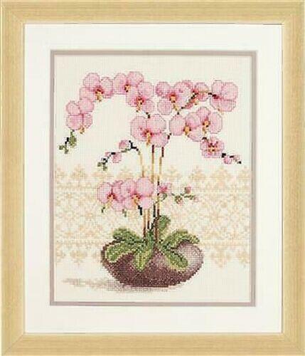 """Vervaco Zählmusterbild Fantasypferd Punto Croce /"""" Orchidea /"""" 18x23 cm Pn0012173"""