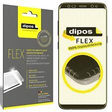 3x Samsung Galaxy S8 Plus Schutzfolie Folie, 100% Displayabdeckung, dipos Flex