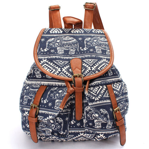Women Girl School Backpack Shoulder Bookbag Rucksack Satchel Travel Bag